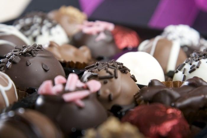 como vender chocolate caseiro