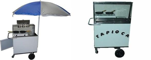 carrinho de tapioca para vender