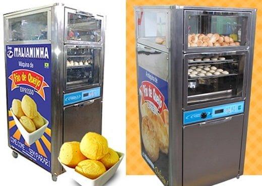 maquina para fazer pão de queijo
