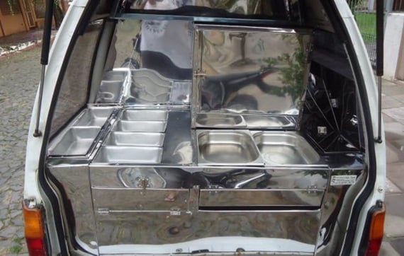 kit cachorro quente para carro