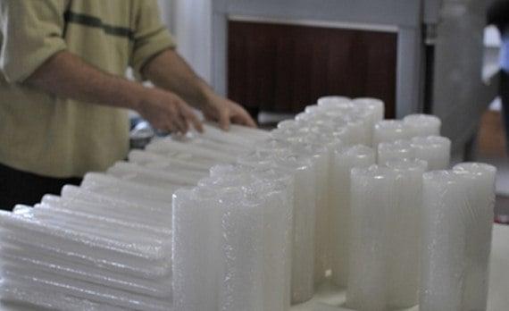 como montar uma pequena fabrica de velas