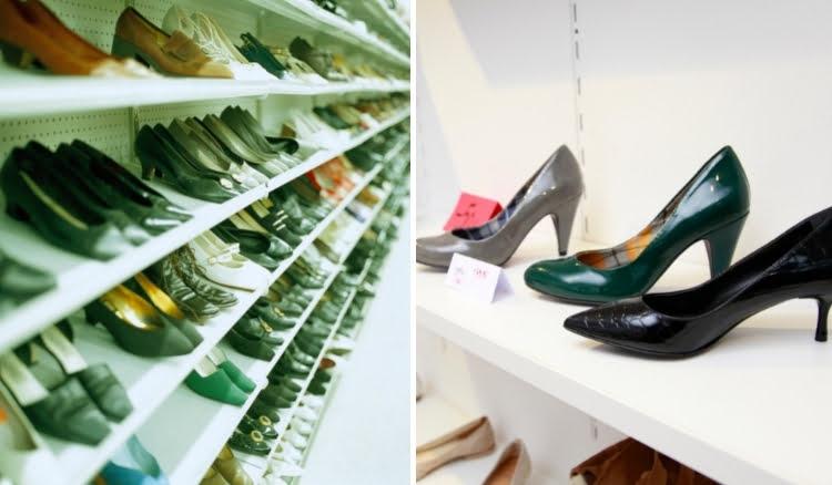 Trabalhar com revenda de sapatos