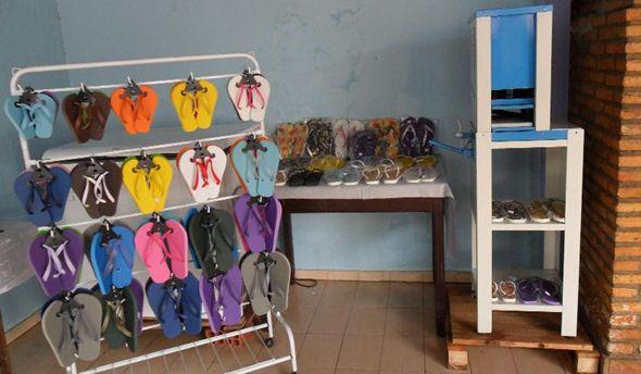 abrir uma fabrica de chinelos
