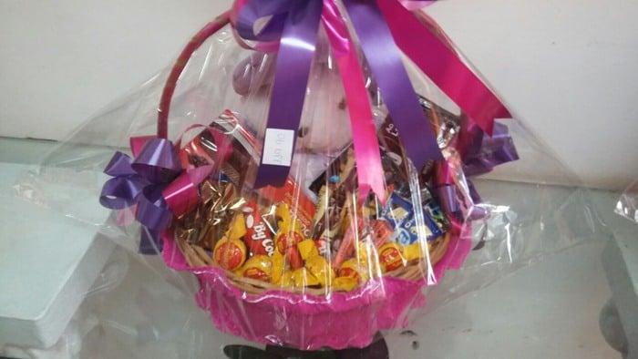 cesta de chocolate para vender