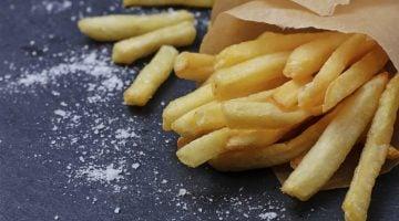 máquina de batata frita