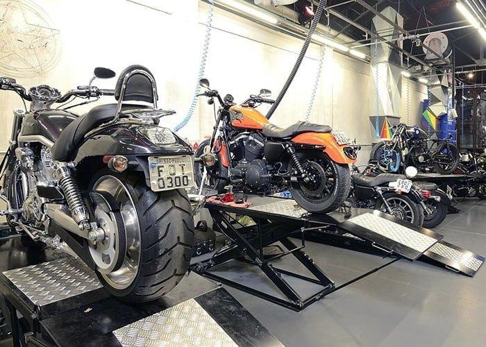 como montar uma oficina de motos