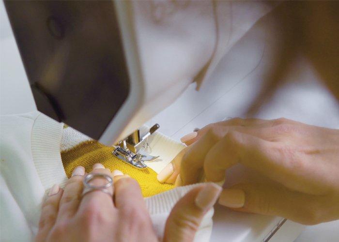 máquinas de costura para trabalhar em casa