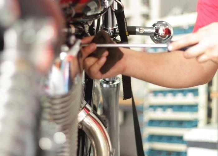 montar uma oficina de motos
