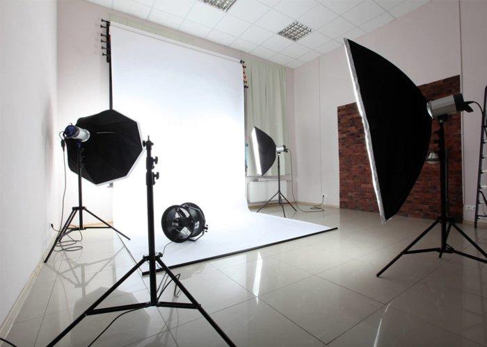como montar um estúdio fotográfico