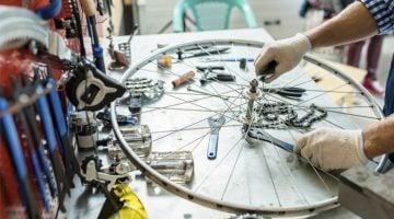 como montar uma oficina de bicicletas