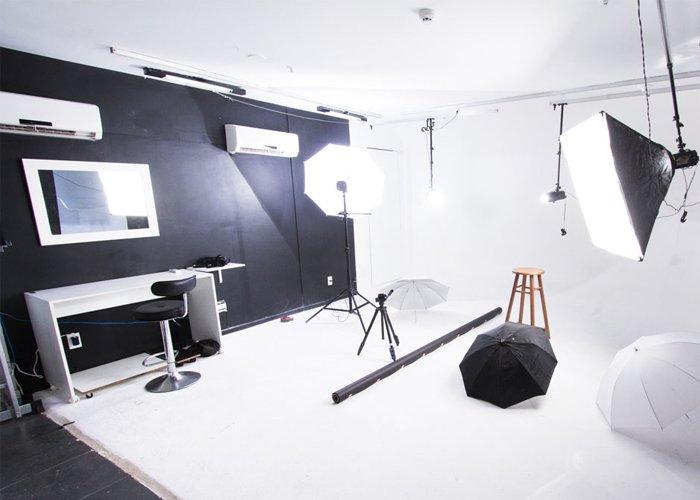 o que é preciso para montar um estúdio fotográfico