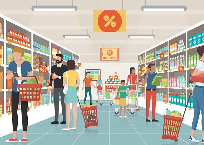 montar um supermercado dá dinheiro