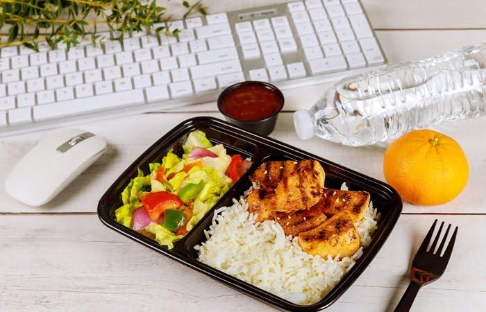 Vender comida saudável delivery
