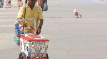 ganhar dinheiro na praia