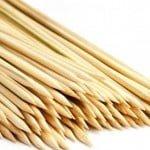 Fabrica de espetos de bambu para churrasco