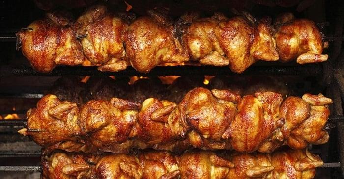 entrega de frango assado em domicílio