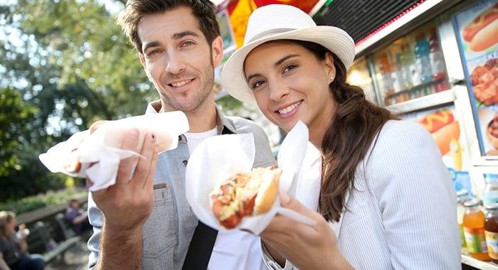 vender comida de rua