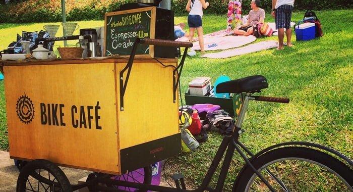 como montar uma bike café
