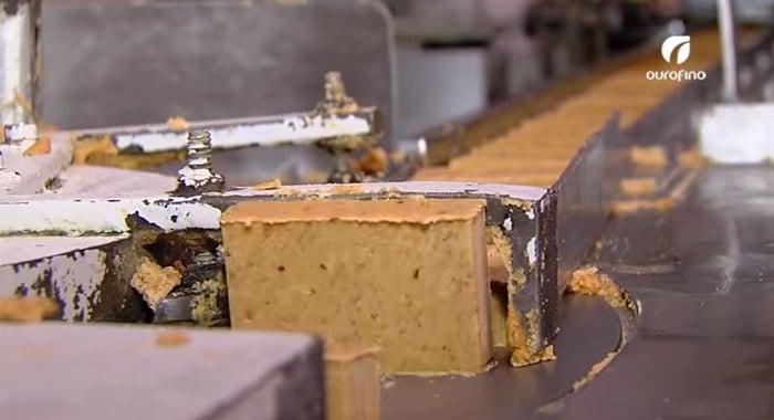 fabrica de paçoca doce de amendoim
