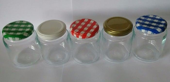 potes de vidro para doces