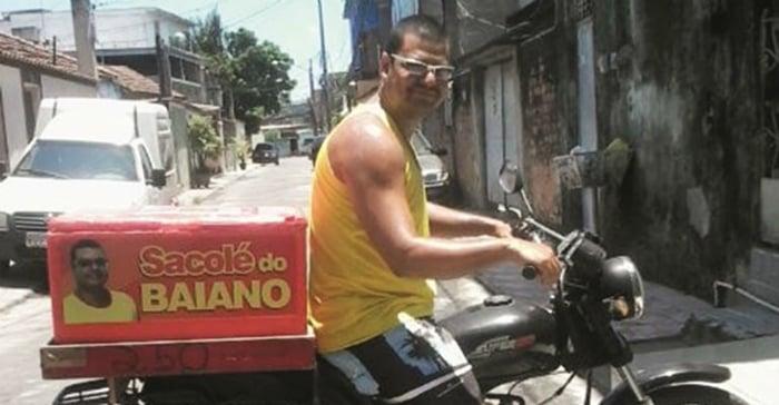 vendedor de geladinho delivery