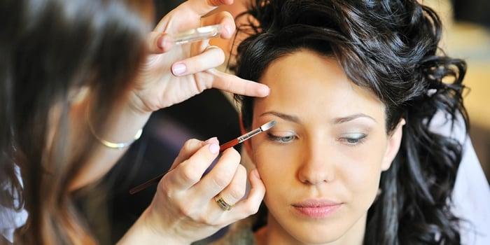 profissão de maquiadora