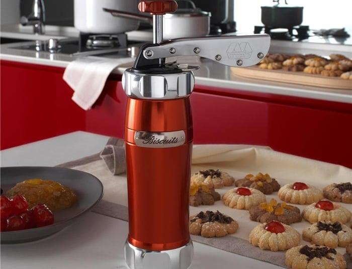 máquina manual para fazer biscoitos caseiros