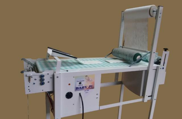 Máquina para lucrar fabricando fraldas