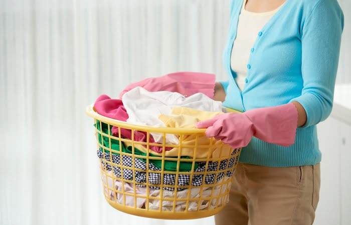 Serviços de lavanderia domiciliar