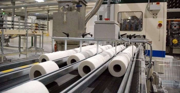 fabrica de papel higiênico