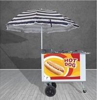 carrinho de cachorro quente barato