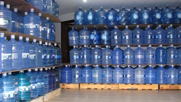 revenda de agua mineral