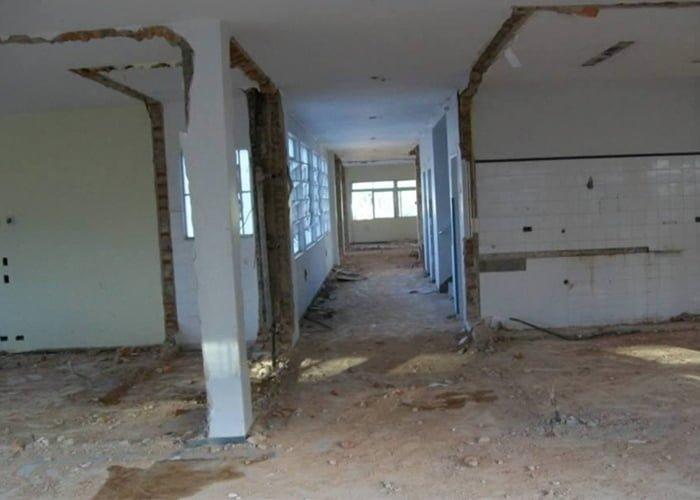 Demolição de apartamento