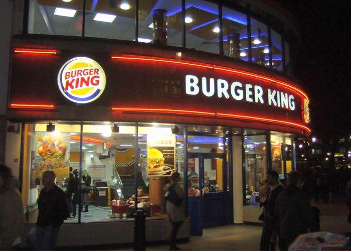 Franquia Burger King dá dinheiro