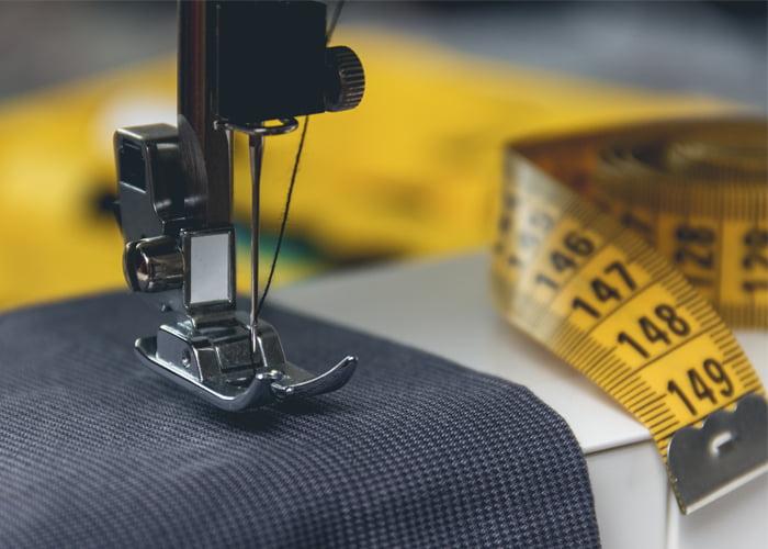máquinas industriais para confecção