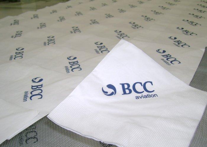Guardanapos de papel personalizados
