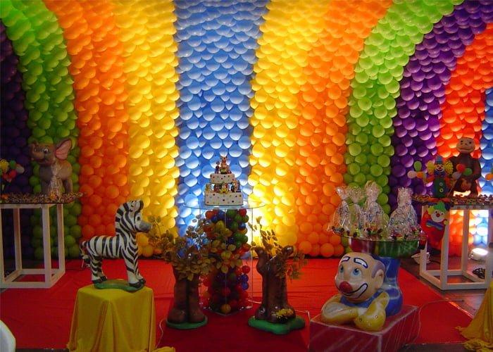 trabalhar com balões