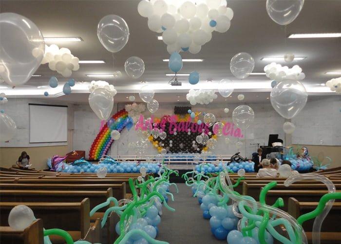 como trabalhar com balões