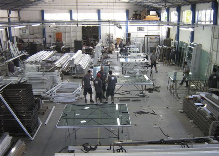 montar uma fábrica de esquadrias de alumínio