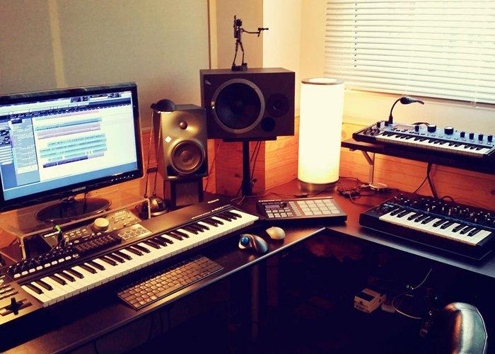 montar um estúdio de gravação