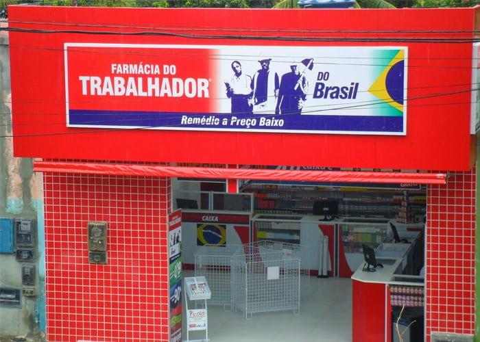 montar uma franquia Farmácia do Trabalhador do Brasil