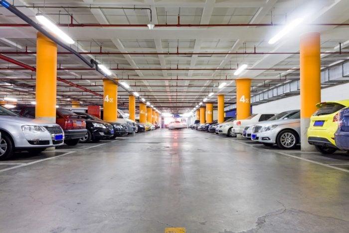 montar uma franquia de estacionamento