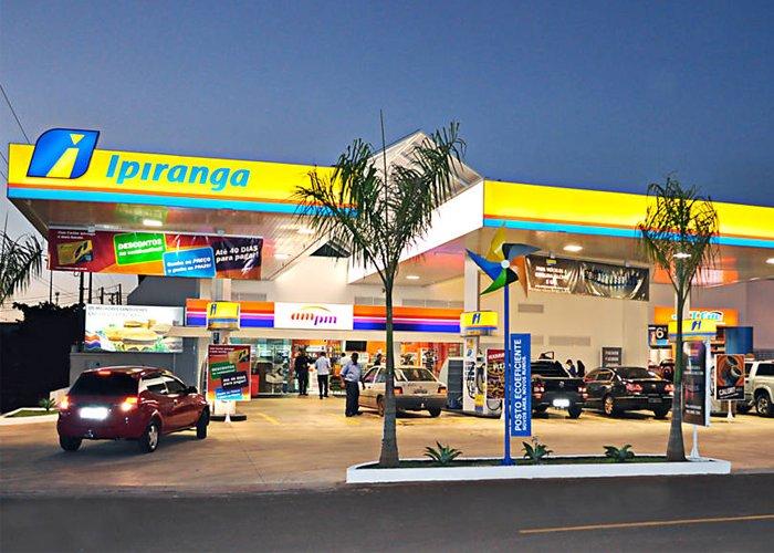 franquia de posto de gasolina