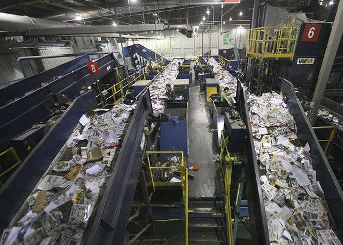 montar uma usina de reciclagem