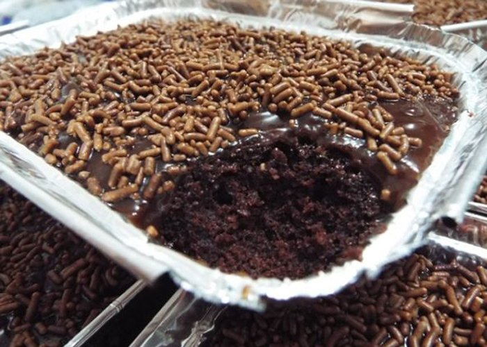 como fazer bolo na marmita para vender