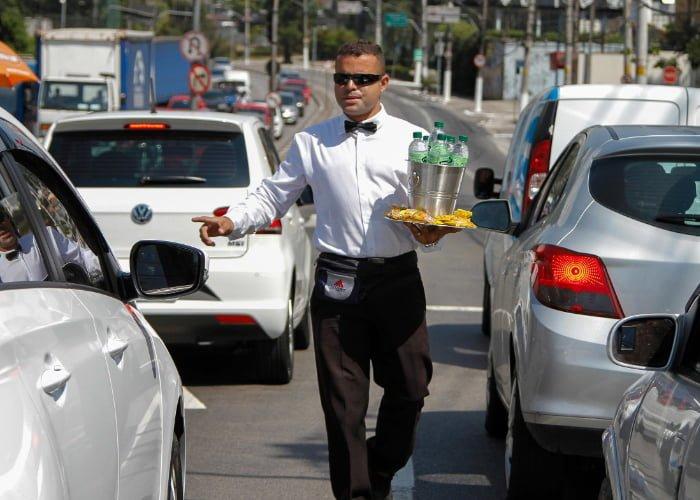 como ganhar dinheiro no semáforo