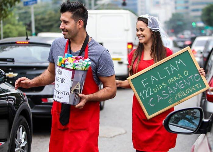 ganhar dinheiro no semáforo