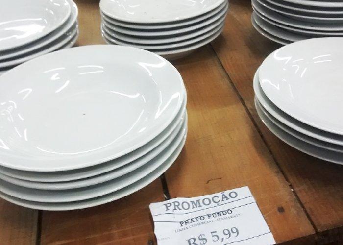 pratos para restaurante no atacado