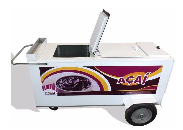 carrinho de açaí