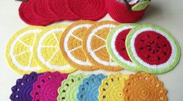 ideias fáceis de coisas de crochê para fazer